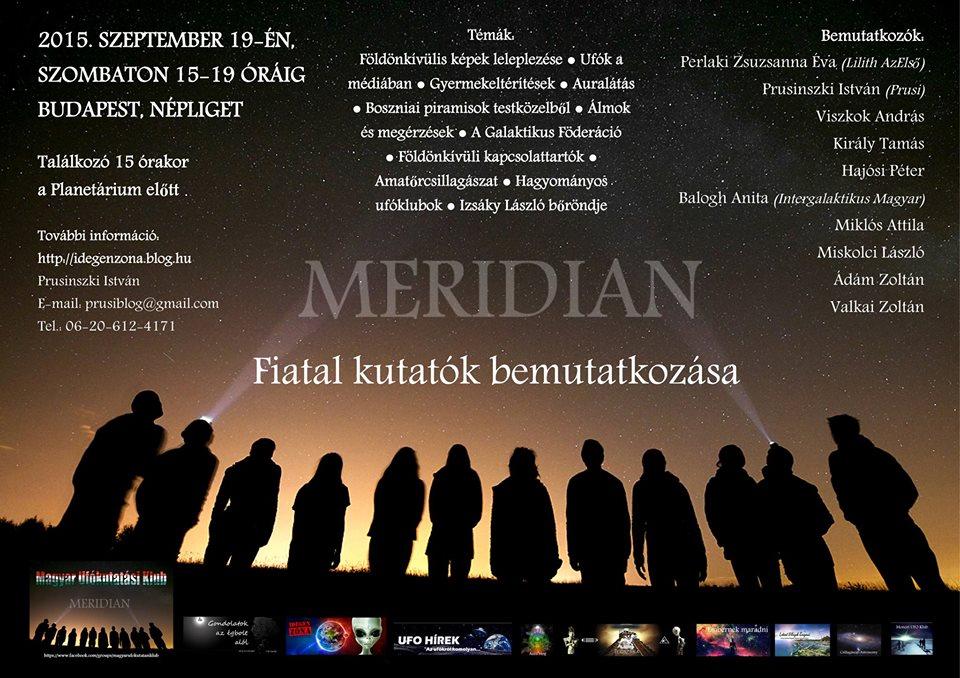 2015. szeptember 19. – Meridián találkozó